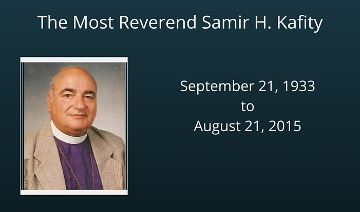 A Memorial for the Most Reverend Samir Kafity